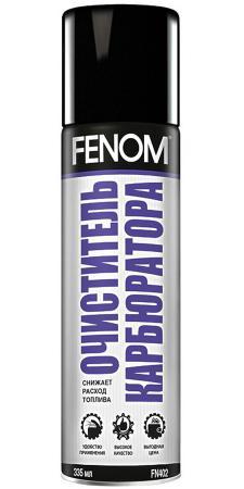 Очиститель карбюратора Fenom FN 402 очиститель карбюратора 450мл аэрозоль