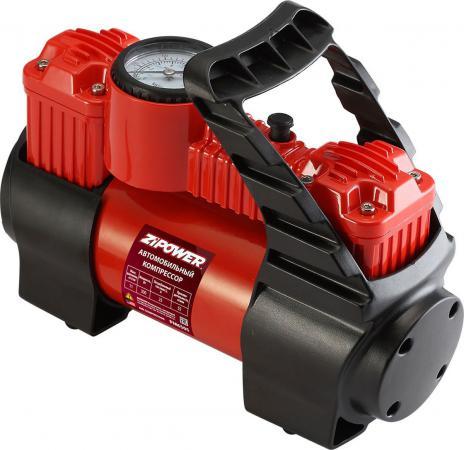Автомобильный компрессор ZIPOWER PM 6505 55л/мин компрессор автомобильный с пылесосом zipower pm 6510