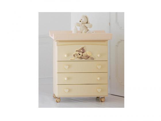 Комод пеленальный с ванночкой Baby Expert Cremino (крем) детская кровать baby expert cremino by trudi