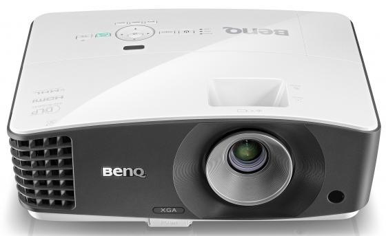 Проектор BenQ MX704 DLP 1024x768 4000 ANSI Lm 13000:1 VGA HDMI S-Video RS-232 9H.JCJ77.13E проектор benq mw526e dlp 1280x800 3200 ansi lm 13000 1 2xvga hdmi s video rs 232 9h jd977 33e