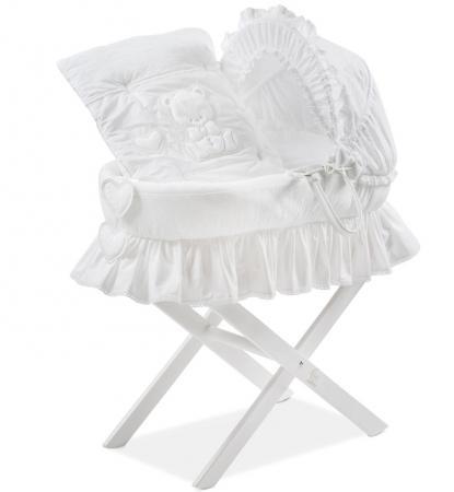 Корзина для переноски Italbaby Amore (белый/230,0082-5) italbaby плетеный ящик для игрушек amore italbaby белый