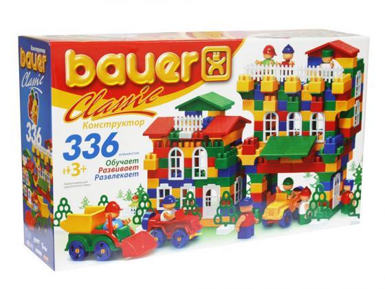 Конструктор Bauer Classic Кроха 199 336 элементов набор для песка кроха с ведром и ситом bauer