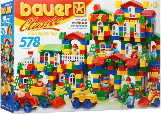 Конструктор Bauer Classik 201 578 элементов конструктор bauer питон 58 элементов