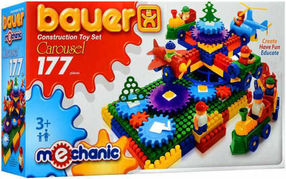 Конструктор Bauer Карусель 177 элементов 186 конструктор bauer космос 206 элементов 269