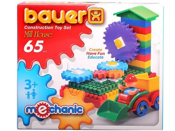 Конструктор Bauer Мельница малая 65 элементов 189 bauer bauer конструктор avia 200 элементов