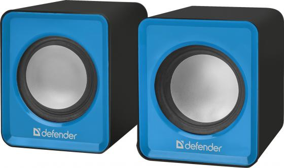 Колонки DEFENDER SPK 22 2x2.5Вт синий 65501 компьютерные колонки defender spk 480