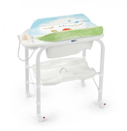 Стол пеленальный с ванночкой Cam Cambio (цвет 222/C209) cam пеленальный столик cambio мишка cam бежевый