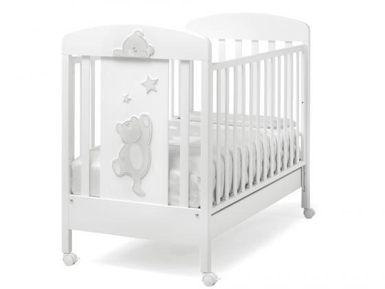 Кроватка Erbesi Cucu (белый)