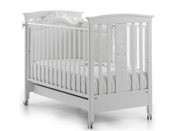 Кроватка Erbesi Incanto (белый)