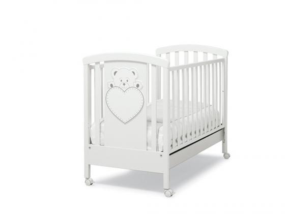 Кроватка Erbesi Lulu (белый)