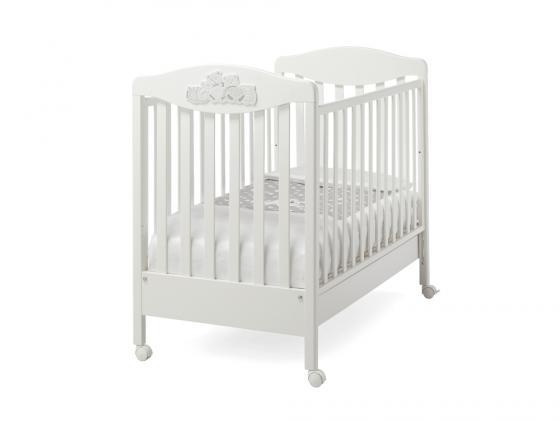 Кроватка Erbesi Tippy (белый)