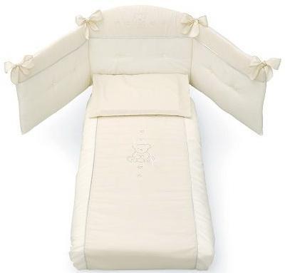 Комплект постельного белья 3 предмета Erbesi Brillante (слоновая кость) комплект постельного белья 3 предмета erbesi brillante белый