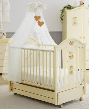 Кроватка с маятником Pali Capriccio (античная слоновая кость) кроватка с маятником sweet baby eligio avorio слоновая кость
