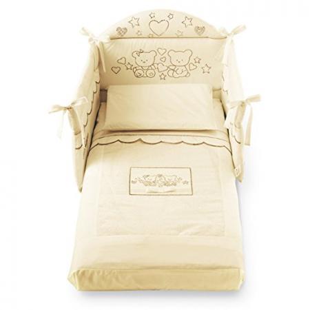 Комплект постельного белья 3 предмета Pali Marilyn Prestige (магнолия) детские кроватки pali classic prestige