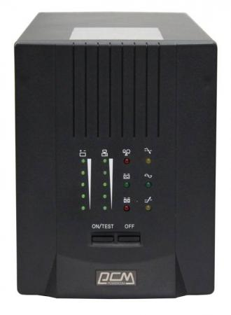 ИБП Powercom Smart King Pro+ SPT-1500 1500VA uninterruptible power supply powercom smart king pro spt 500 home improvement electrical equipment