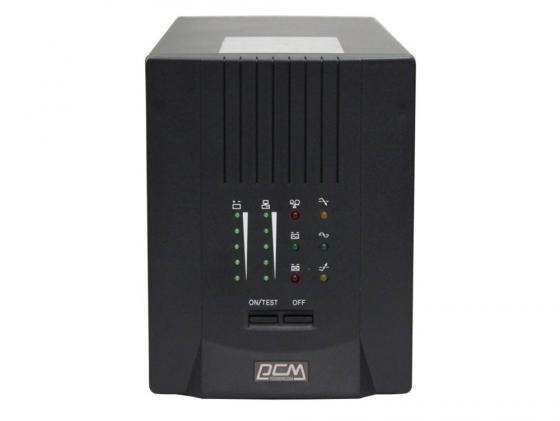 ИБП Powercom Smart King Pro+ SPT-2000VA 1400Вт 2000ВА черный