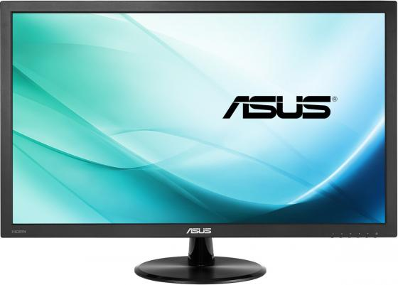 Монитор 21.5 ASUS VP228H черный TN 1920x1080 250 cd/m^2 1 ms DVI HDMI Аудио VGA 90LM01K0-B01170 монитор 23 6 philips 247e6ldad 00 01 черный tn 1920x1080 250 cd m^2 1 ms dvi hdmi vga аудио