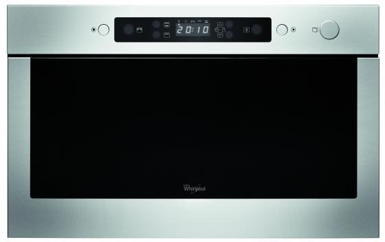 Встраиваемая СВЧ печь Whirlpool AMW 439/IX 22л 750Вт серебристый духовой шкаф с функцией свч whirlpool amw 507 ix