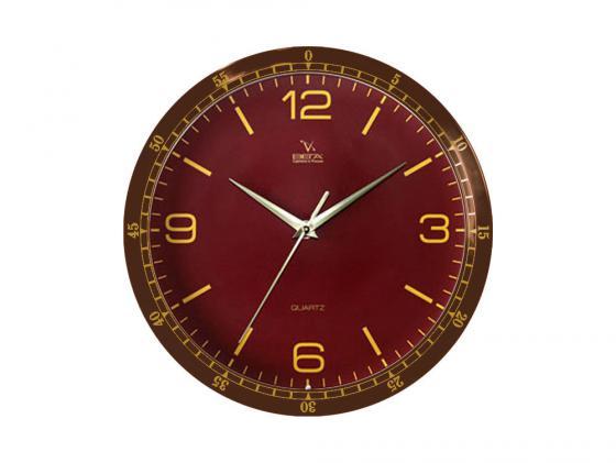 Часы настенные Вега П 1-9815/7-64 часы настенные вега п 4 14 7 86 новогодние подарки