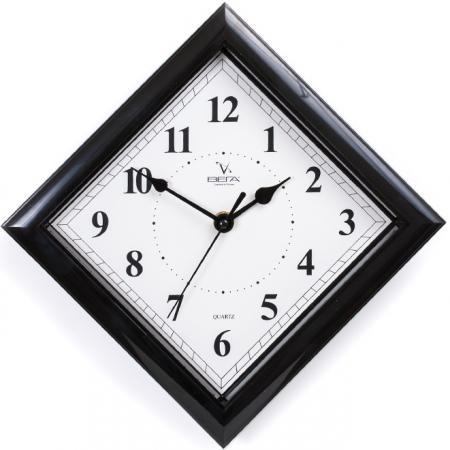 Часы настенные Вега П 3-6-51 чёрный часы настенные вега п 6 6 37 чёрный