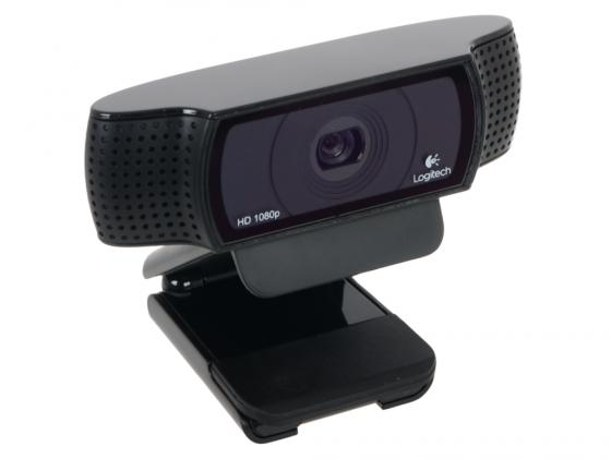 Веб-Камера Logitech HD Webcam C920 960-001055 logitech hd pro webcam c920