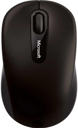 Мышь беспроводная Microsoft Mouse 3600 чёрный Bluetooth PN7-00004 мышь microsoft 3600 pn7 00014 red bluetooth