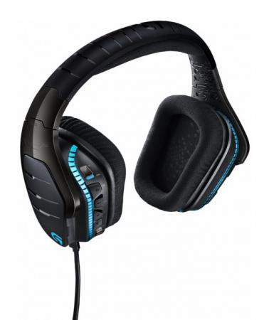 Игровая гарнитура проводная Logitech Headset G633 черный 981-000605 цена