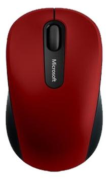 Мышь беспроводная Microsoft Mouse 3600 красный Bluetooth PN7-00014 мышь microsoft wireless mobile mouse 3600 black bluetooth pn7 00004