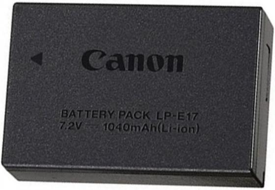 Фото - Аккумулятор Canon LP-E17 для EOS 750 760 canon 729 черный
