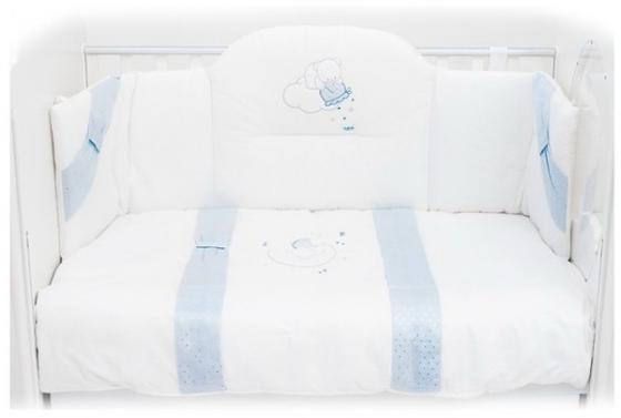 Постельный сет Italbaby Polvere Di Stell (голубой/100.0005-2) постельный сет italbaby teddy крем 100 0019 6