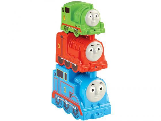 Игровой набор Fisher Price Томас и друзья. Складывающиеся блоки-паровозики 3 предмета CDN14 fisher price кубики блоки паровозики