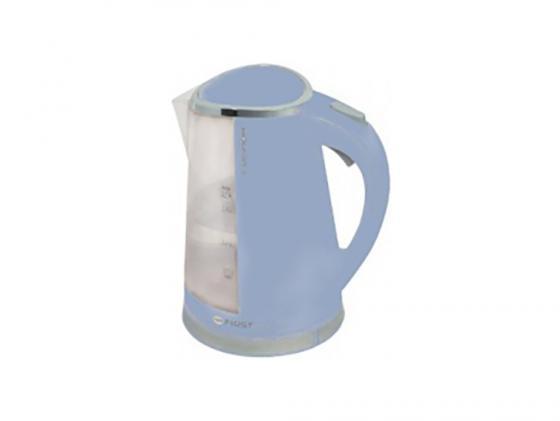 Чайник First 5417-2 2200 Вт синий 1.7 л пластик