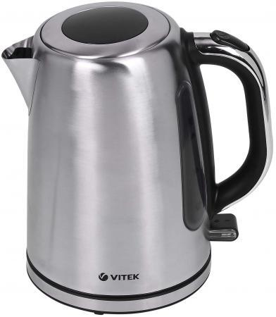 Чайник Vitek 7010 SR 2200 Вт серебристый 1.7 л металл термокружка vitek vt 1520 sr серебристый