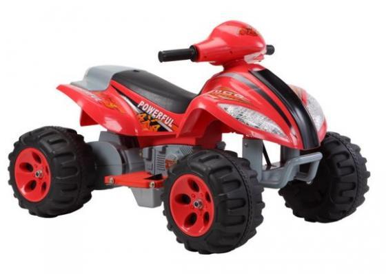 Квадроцикл красный 35W, 6V/7Ah Пламенный мотор 86077 пламенный мотор машинка инерционная volvo пожарная охрана