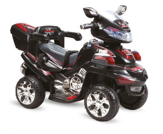 Квадроцикл р/у черный аккум 6V/4.5AH,12W Пламенный мотор 86079