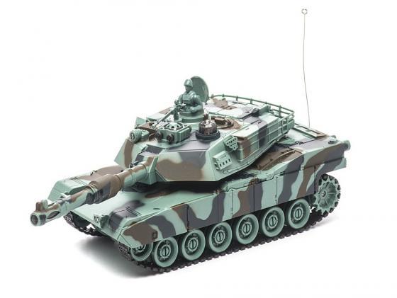 Танк на радиоуправлении Пламенный Мотор Abrams M1A2 (США) 1:28 камуфляж от 4 лет пластик 87556 радиоуправляемый танковый бой huan qi abrams vs abrams масштаб 1 24 27mhz vs 40mhz