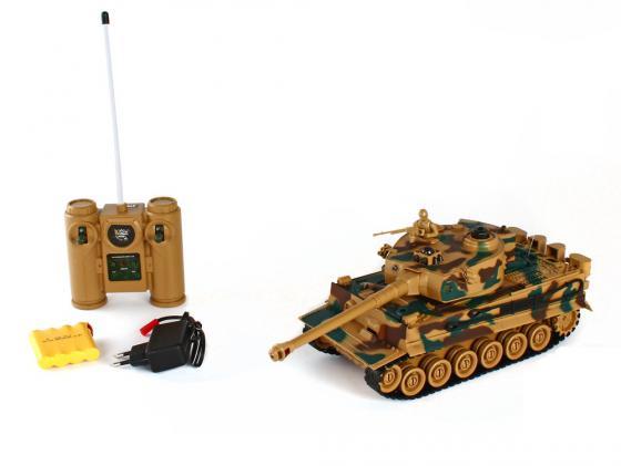 Танк на радиоуправлении Пламенный Мотор Tiger (Германия) 1:28 камуфляж от 4 лет пластик 87553 танк на радиоуправлении пламенный мотор king tiger 1 28