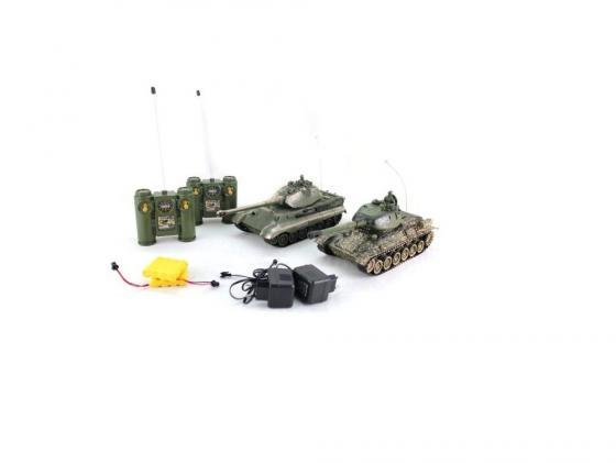 Танковый бой на радиоуправлении Пламенный мотор Т-34 (СССР) vs King Tiger (Германия) 1:28 от 6 лет пластик 870164 цены онлайн
