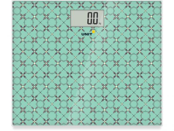 Весы напольные Unit UBS-2080 зелёный unit ubs 2053 light gray весы напольные электронные