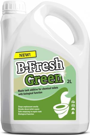 Жидкость для биотуалетов Thetford B-Fresh нижнего бака зеленая 2л