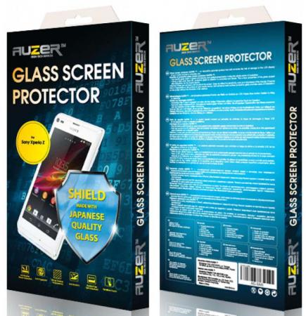 Защитное стекло Auzer AG-SSXZ 5 C для Sony Xperia Z 5 Compact магнитый кабель ainy для sony xperia z1 z2 z3 фиолетовый