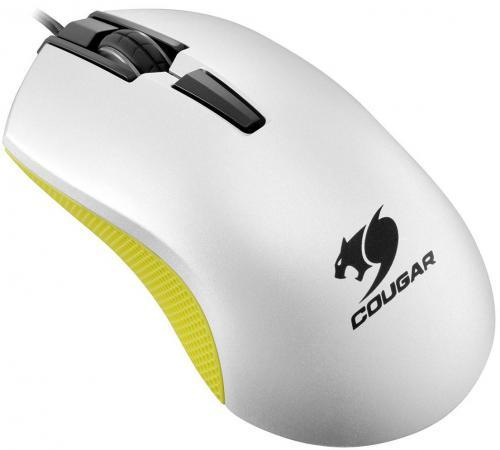Мышь проводная COUGAR 230M жёлтый белый USB CGR-WOSY-230