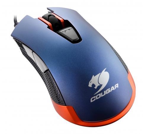 все цены на Мышь проводная COUGAR 550M синий USB онлайн
