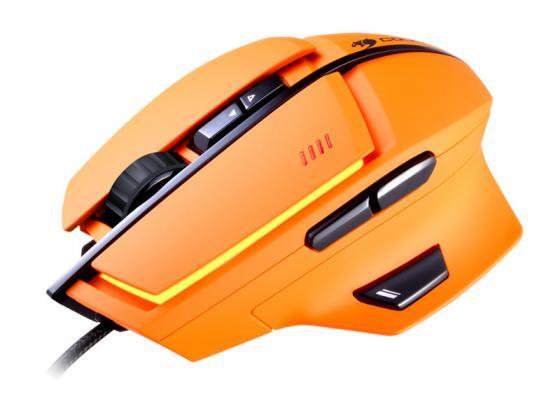 Мышь проводная COUGAR 600M оранжевый USB CGR-WLMO-600