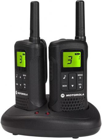 Радиостанция Motorola TLKR-T61 черный motorola tlkr t41 розовый