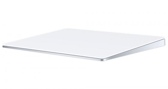 Трекпад Apple Magic Trackpad белый серебристый Bluetooth MJ2R2ZM/A