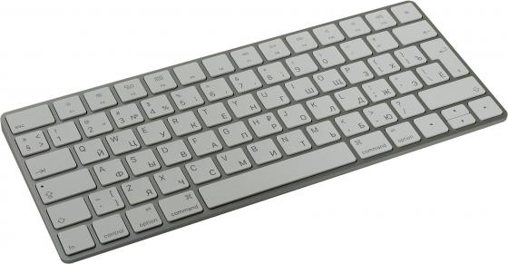 Клавиатура беспроводная Apple Magic Keyboard Bluetooth серый MLA22RU/A компьютерная клавиатура bluetooth keyboard jecksion bluetooth ios android windows pc