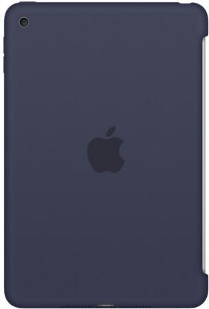 все цены на  Чехол (клип-кейс) Apple Silicone Case для iPad mini 4 синий MKLM2ZM/A  онлайн