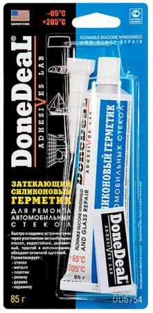 Герметик для ремонта стекол Done Deal DD 6754 высокотемпературный бандаж для ремонта глушителя done deal dd 6789
