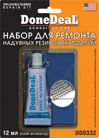 Набор для ремонта камер Done Deal DD 0332 набор для ремонта бескамерных шин done deal dd 0324